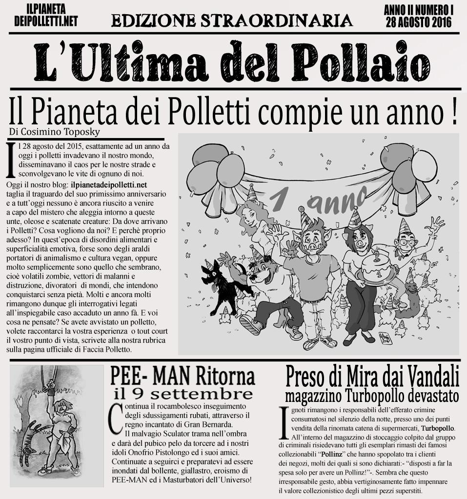 Il Pianeta dei Polletti Compie UnAnno!